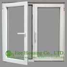 Tempered Safety Glass Aluminum Casement Windows