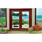 French Patio classic craft timber door with glazing