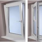Single Or Double Glazing Tilt & Turn Window, Aluminum Alloy Tilt & Turn Window, Vinyl Tilt & Turn Window