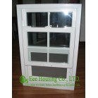 Double Glazed Single/ Double Hung Window,good sound insulation and ventilation