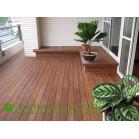 Customized Stripes Outdoor Bamboo Flooring, Eco-friendly,Matt Finish
