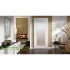 Interior PVC Wood Doors for Bathroom, Interior Bedroom Swing door
