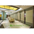 Soft Fabric Finished Movable Partition Wall For Dinning Hall, Good Sound Insulation