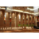 Soft Leather Finished Movable Partition Wall For Hotel/Exhibition Hall, No Track