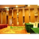 Melamine Finished Movable Partition Wall For Meeting Room, With Casement Door Type
