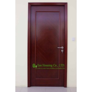 90 Minutes Fire Rated Wooden Doors For Residentail Projects, 50mm ...