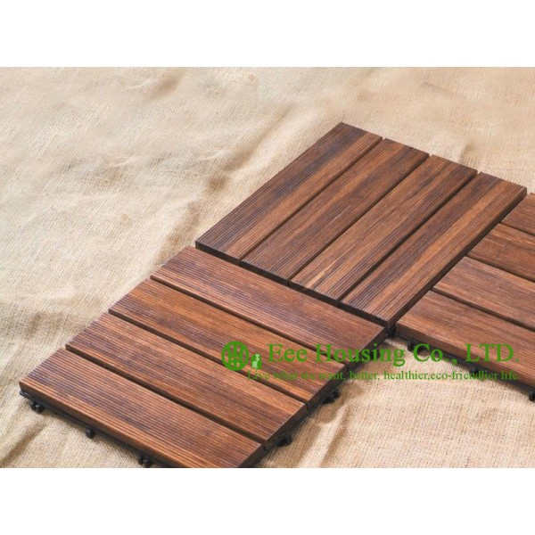 Bamboo deck tiles outdoor bamboo flooring decking tiles for Bamboo flooring outdoor decking