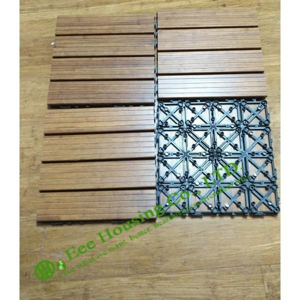 Bamboo Deck Tiles Outdoor Bamboo Flooring Decking Tiles