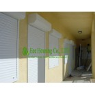 White Color Aluminum Roller Shutter Manufacturer,Electric or Manual Operated