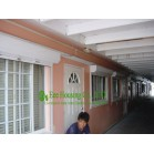 White Color Aluminum Roller Shutter Manufacturer,Sun and bad weather resistance