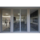 Adjustable Aluminum Glass Louvered windows/ Inbuilt security Jalousie louvre windows