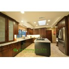 Fully Customized Solid Wood Kitchen Cabinet For Villas, Moisture-Proof