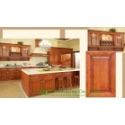 North American Villa Project Solid Wood Kitchen Cabinet Design For Condos, Ready to assemble kitchen cabinets