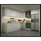 Lacquer Kitchen Cabinet-1