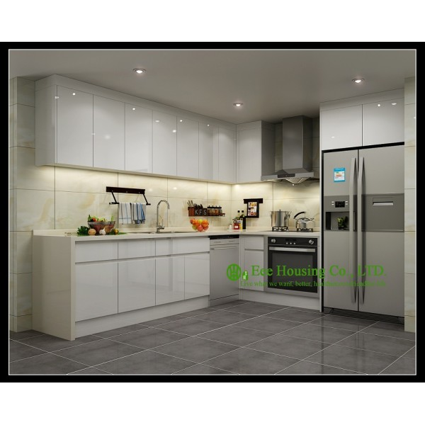 Superior Lacquer Kitchen Cabinet 1