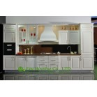 Modern White PVC Kitchen Cabinet For Apartment / Condos Projects, Scratch resistant & Moisture proof