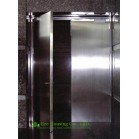 stainless steel fire rated emergency exit door