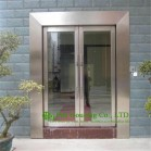 Shopping Mall  Stainless Steel Glass Door