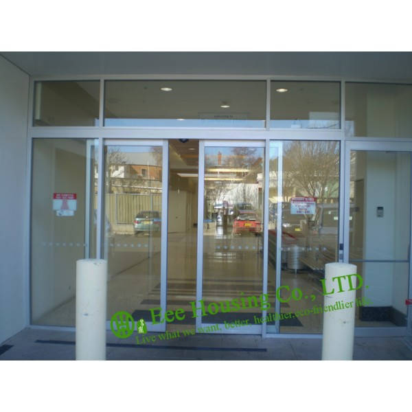 Automatic Sliding Door With Aluminum Frame Automatic