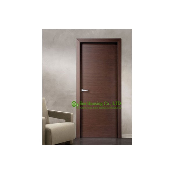 Modern Flush Wood Door For Sale