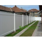 Vinyl Privacy Fence, PVC Garden Fence