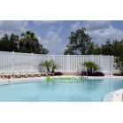 Semi-Privacy Fence,Vinyl Garden Fencing, Pool Fencing