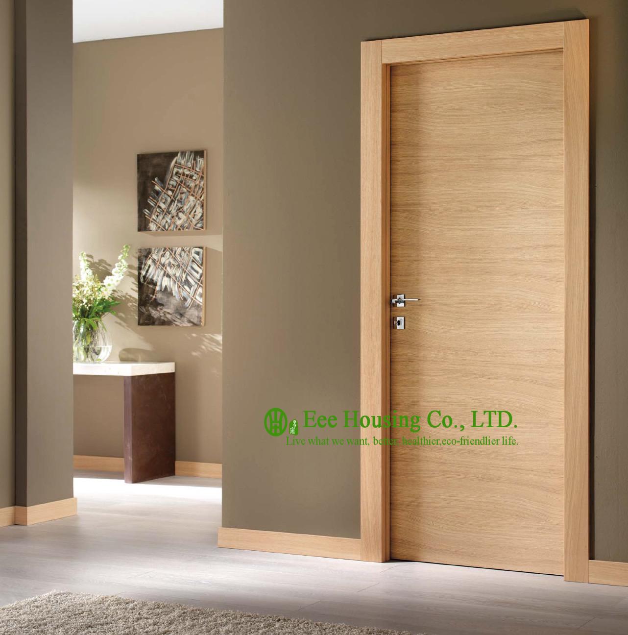 Modern Flush Wood Door For Sale