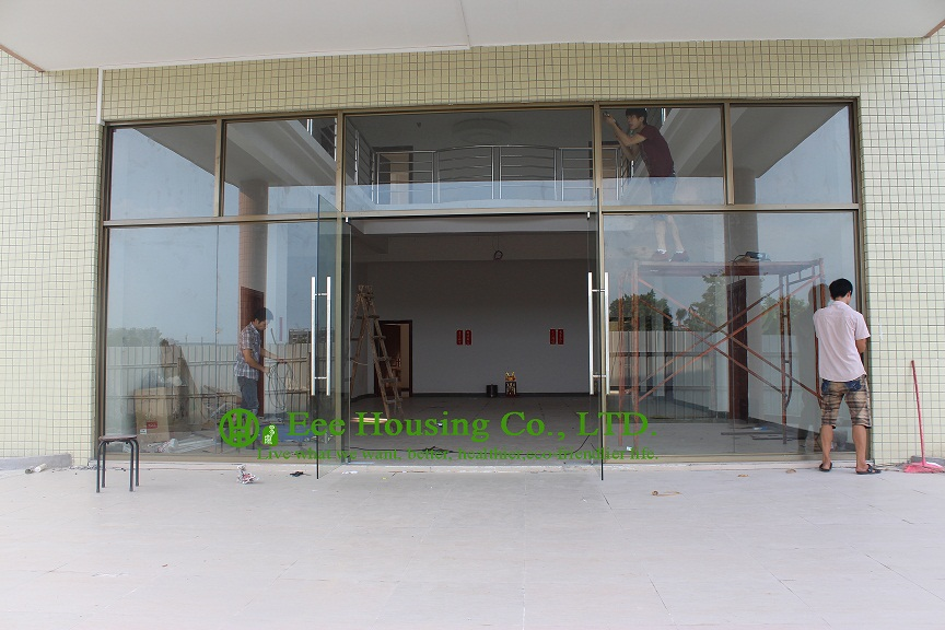 Commercial Glass Exterior Door