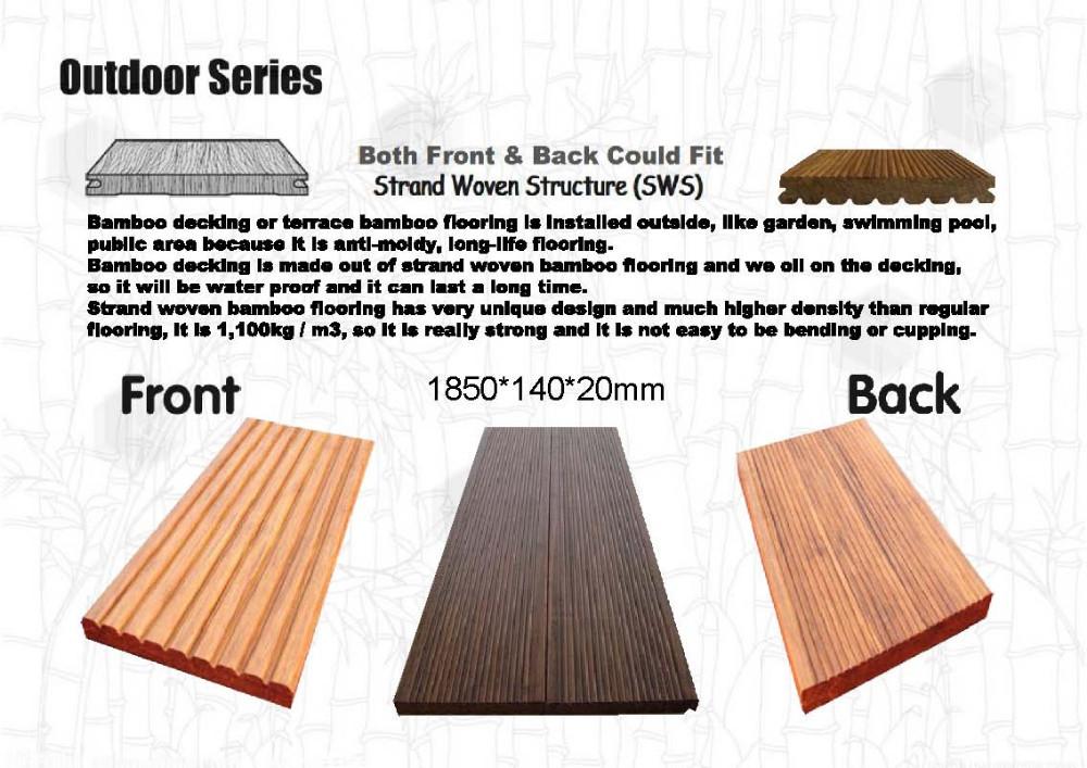 Outdoor Bamboo Flooring Outdoor Decking
